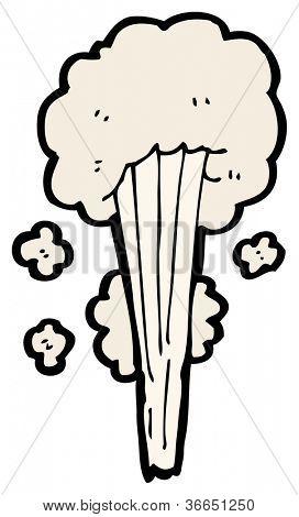 gust of wind cartoon