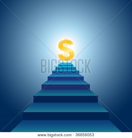 Stairs To Financial Success