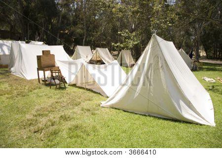 Civil War Bivouac