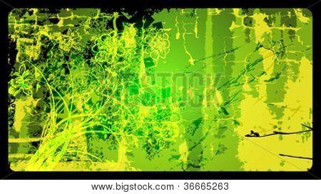 Grunge vector background eps10