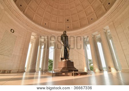 Thomas Jefferson Memorial in Washington DC United States