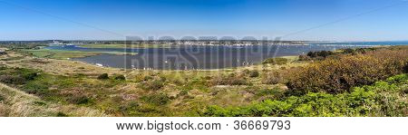 Christchurch Harbour Panorama