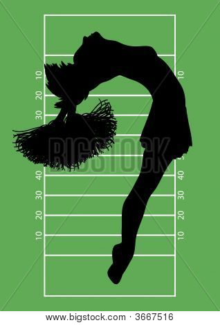 Football Cheerleader 4