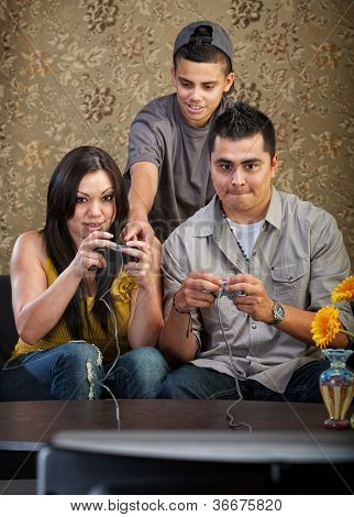 Family Learning To Play Video Games
