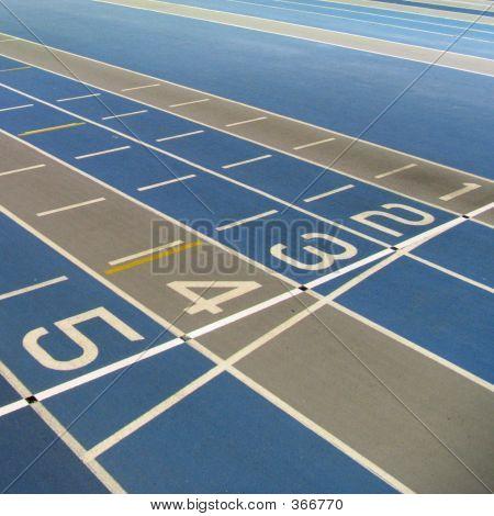 Running Track Start/finish Line