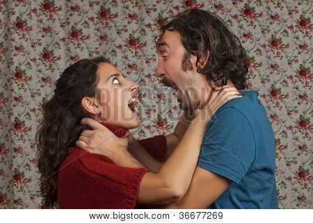 Young Couple Having A Conflict