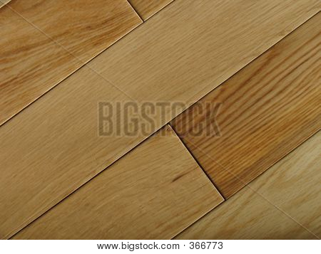 Diagonal Oak Flooring
