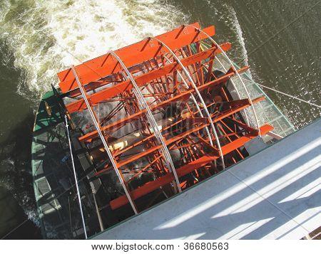 River Paddlewheel Boat