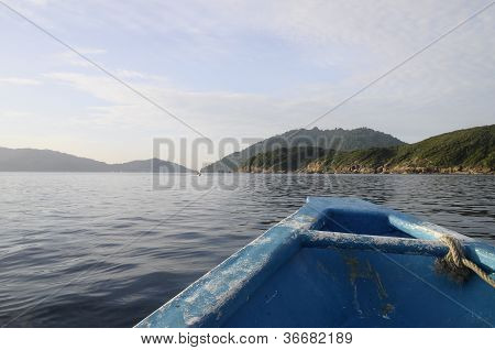 Perhentian Island From Blue Boat
