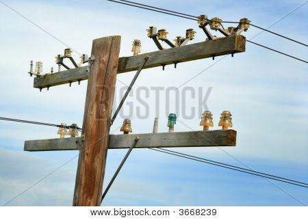 Antique Telephone Pole