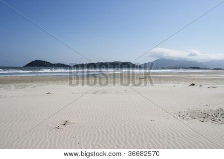 Beach scene - Florianopolis - SC - Brazil.