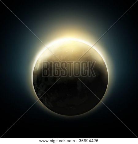 Planet Earth illustration - vector