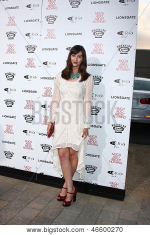 LOS ANGELES - JUN 5:  Jillian Morgese arrives at the
