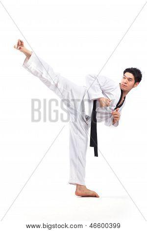 Acción de Taekwondo