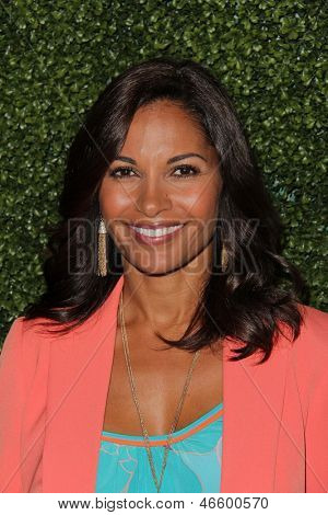 LOS ANGELES - MAY 31:  Salli Richardson-Whitfield arrives at the 10th Annual Inspiration Awards Luncheon at the Beverly Hilton Hotel on May 31, 2013 in Beverly Hills, CA