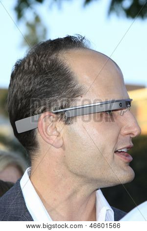 LOS ANGELES - MAY 29:  Google Glasses arrives at the