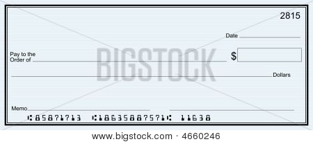 large fake check template - check in vectors stock photos illustrations bigstock