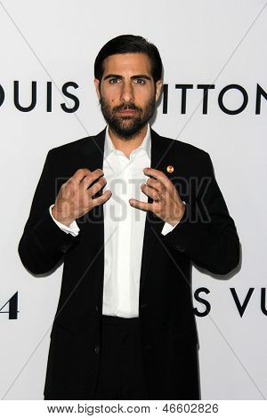 """LOS ANGELES - JUN 4:  Jason Schwartzman arrivesa at the """"The Bling Ring"""" Los Angeles Premiere at the DGA Theater on June 4, 2013 in Los Angeles, CA"""