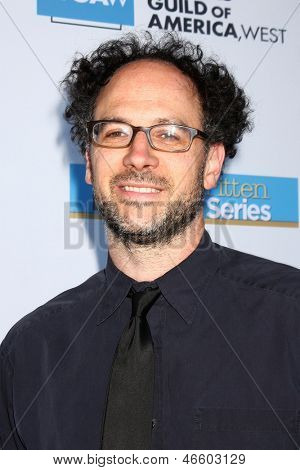 LOS ANGELES - JUN 2:  Matt Selman arrives at the WGA's 101 Best Written Series Announcement at the Writers Guild of America Theater on June 2, 2013 in Beverly Hills, CA
