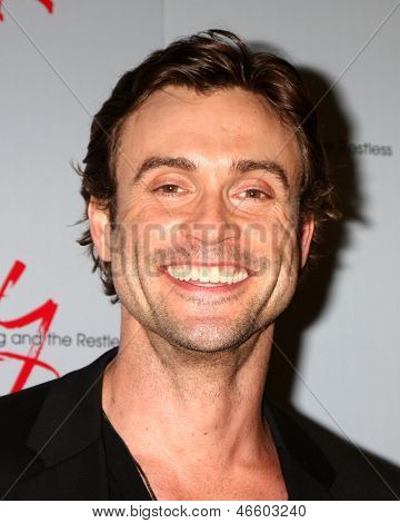 "LOS ANGELES - JUN 4:  Daniel Goddard arrives at SAG-AFTRA Panel Discussion With The Cast Of ""The Young And The Restless"" at the SAG-AFTRA Headquarters on June 4, 2013 in Los Angeles, CA"