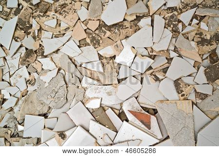 Breaking Ceramic Tiles