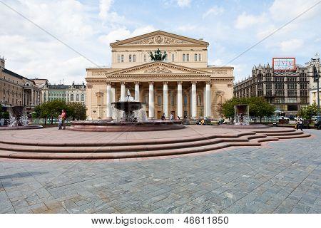 Bolshoi Theatre Of Moscow