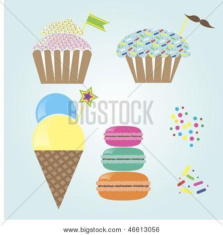 Cute Confection Set