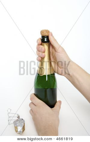 Opening A Bottle