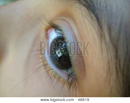 An Eye Of A Child