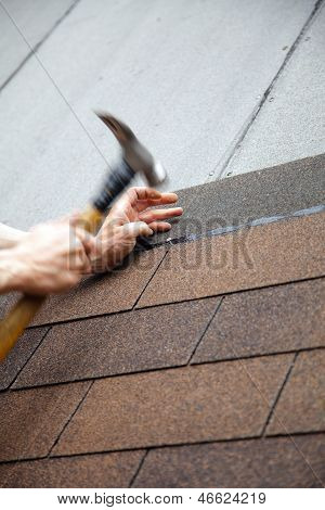 Hammer Roof With Slates