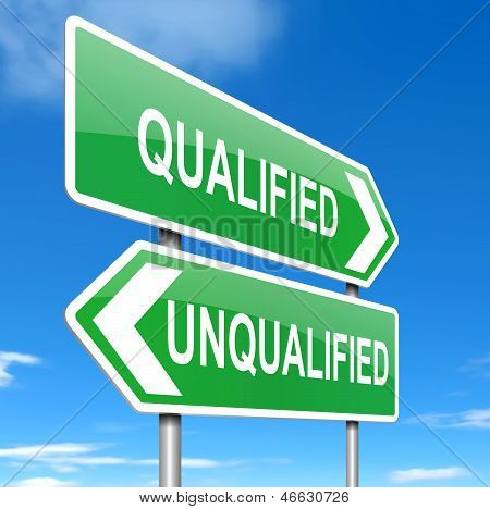 Qualified Or Unqualified.