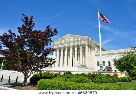 Supreme Court in Washington DC