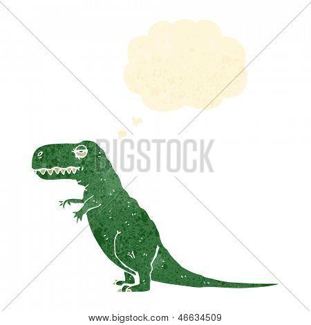 Retro Comic Dinosaurier