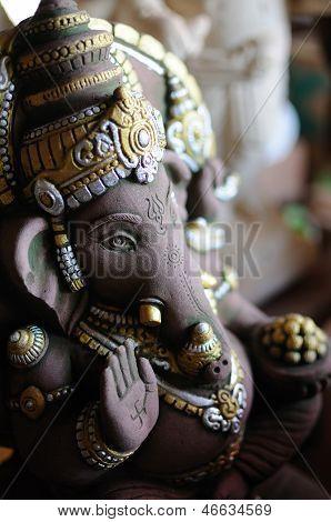 Estatua del dios Ganesh hindú