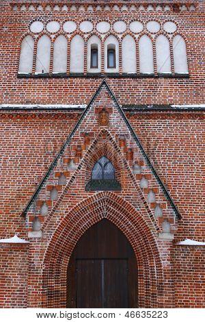 Facade Of St. John`s Church