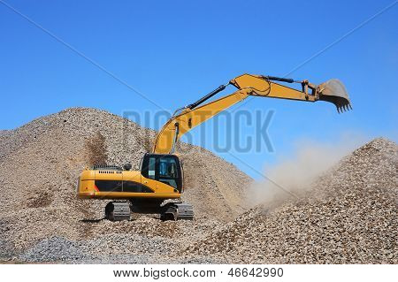 Dredge Loads A Rubble