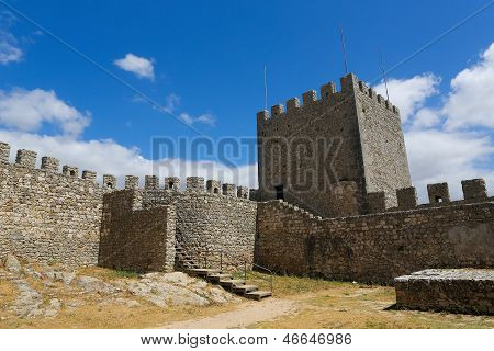 Moorish Castle In Sesimbra