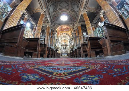 Novara Cathedral Interior