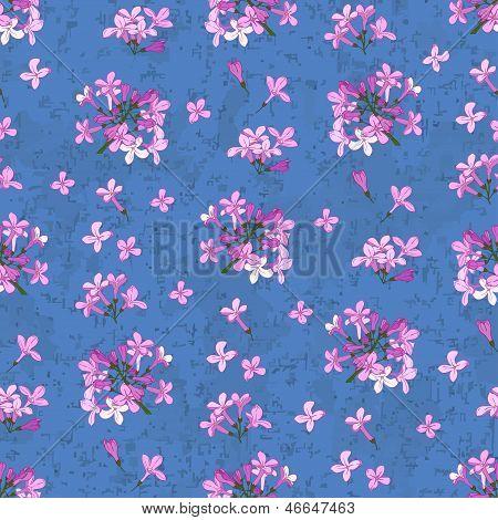 Azul sem costura lilás