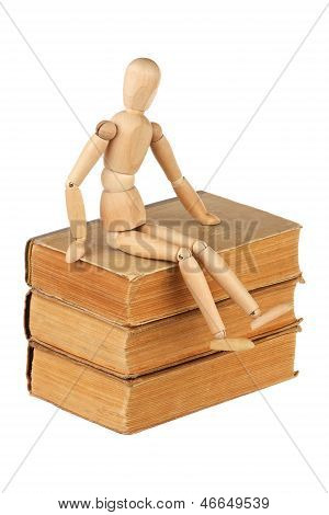 Dummy And Old Books