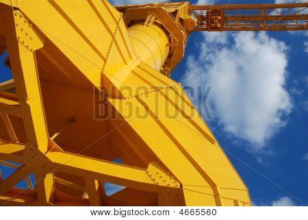 Old Yellow Crane Of Nantes