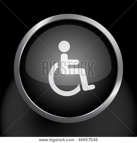 Wheelchair Handicapped Icon