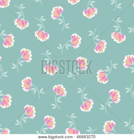 little floral seamless background