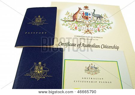 passports and citizenship certificates