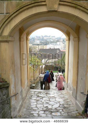 Cobblestone Path To Melk