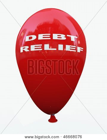 3D Debt Relief Balloon
