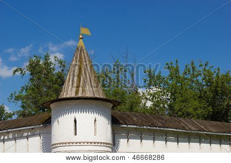 Andronikov Monastery Outer Walls, Moscow