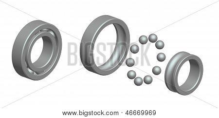 Render: Ball Bearing