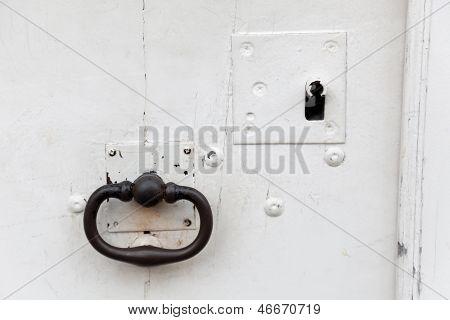 Lock In Pierrefonds, Oise, Picardie, France