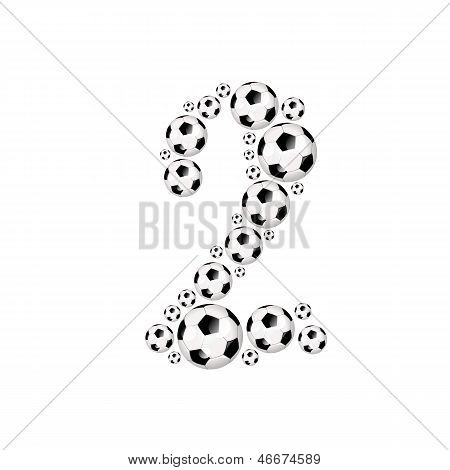 Soccer alphabet number 2